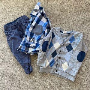H&M 12-18 months boys clothes